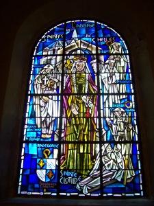 Vitrail Sainte-Bathilde Sainte-Clotilde